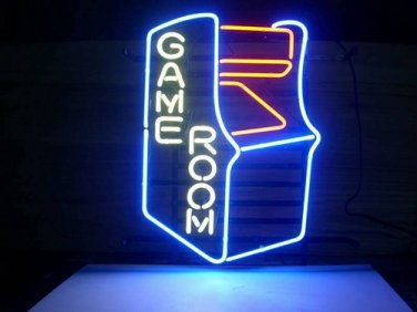 """Brand New Game Room Play Room Beer Bar Neon Light Sign 16""""x 14"""" [High Quality]"""