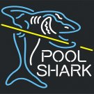 "Brand New Pool Shark Beer Bar Neon Light Sign 16""x 16"" [High Quality]"