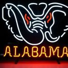 "Brand New NCAA Alabama Crimson Tide College Beer Neon Sign 16""x14"" [High Quality]"