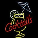 "Brand New Cocktails Martini Umbrella Beer Bar Neon Light Sign 16""x14"" [High Quality]"