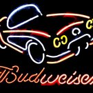 "Brand New Budweiser Car Beer Bar Pub Neon Light Sign 17""x14"" [High Quality]"