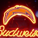 "Brand New NFL San Diego Chargers Budweiser Neon Light Sign 13""x8"" [High Quality]"