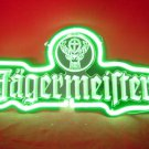 "Brand New Jagermeister 3D Beer Bar Neon Light Sign Green 11""x6"" [High Quality]"