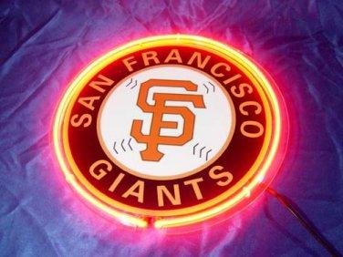 """Brand New MLB San Francisco SF Giants Baseball Beer Bar Neon Light Sign 10""""x10"""" [High Quality]"""