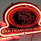 "Brand New NFL San Francisco 49ers Football 3D Beer Bar Neon Light Sign 10""x8"" [High Quality]"