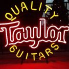 "Brand New Taylor Quality Guitars Beer Bar Neon Light Sign 17""x17"" [High Quality]"
