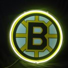 "Brand New NHL Boston Bruins Pres Neon Light Sign 10""x10"" [High Quality]"