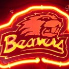 "Brand New NCAA Oregon State Beavers 3D Beer Bar Neon Light Sign 10""x8"" [High Quality]"