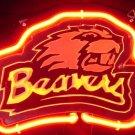 "Brand New NCAA Oregon State Beavers 3D Beer Bar Neon Light Sign 10""x8"" [High Quality]"
