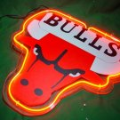 "Brand New NBA Chicago Bulls Beer Neon Light Sign 10""x8"" [High Quality]"