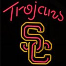 "Brand New NCAA USC Trojans Southern California University Beer Neon Sign 16""x16"" [High Quality]"