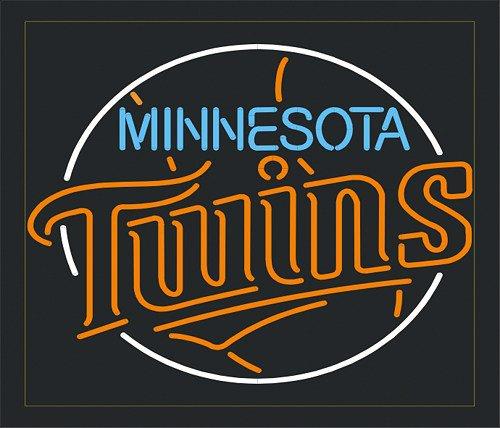 "Brand New MLB Minnesota Twins Beer Bar Neon Light Sign 20""x20""[High Quality]"