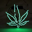 "Brand New Leaf High Life Art Garage Real Neon Light Sign 10""x10"" [high Quality]"