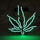 "Brand New Leaf High Life Art Garage Real Neon Light Sign 10""x10"" [high Quality]"