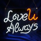 "Handmade Wedding 'Love you always' Art Garage Beer Real Neon Light Sign 12""x10"""