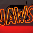 "Brand New 'JAWS' Hand Craft Home neon Beer Pub Light bar sign 12""x7"" [High Quality]"