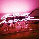 "Handmade 'Gull To Heart' Wedding Beautiful Banner Art Light Neon Sign 10""x8"""