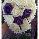 Bridal teardrop bouquet