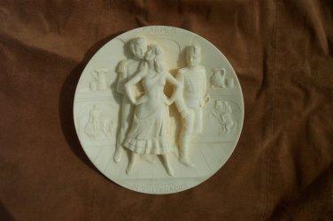 Carmen Opera Commenorative Plate Plaque Dimensional