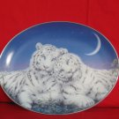 White Tiger Oblong  Plate Kayomi Harai Certificate