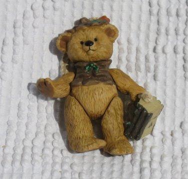 Gift Bearer Ornament 2004 Porcelain Hallmark Keepsake
