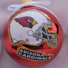 NFL Arizona Cardinals 4 Inch Xmas Glass Ornament - New - Great Gift -