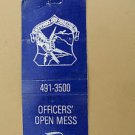 Rickenbacker Air Force Base Ohio SAC Vintage 20 Strike Military Matchbook Cover