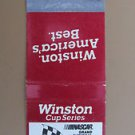 Winston Cup Series Nascar Grand National 20 Strike Motor Sports Matchbook Cover