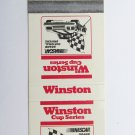 Winston Cup Series NASCAR Grand National Drivers Car Race Sports Matchbook Cover