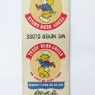 Teddy Bear Grills Restaurant Atlanta, GA Georgia 20 Strike Matchbook Match Cover