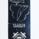 St. Louis District - US Coast Guard Auxiliary 20 Strike Military Matchbook Cover