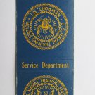 US Naval Training Newport Rhode Island RI Vintage Military 20 FS Matchbook Cover