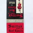 Smitty's Beef Eaters Restaurant Florida Sarasota Venice 20Strike Matchbook Cover