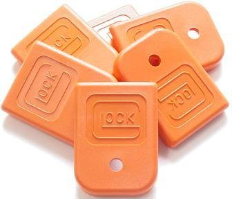 Glock Magazine Floor Plate Orange LG Part Number LWGLO-2681