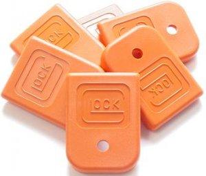Glock Magazine Floor Plate Orange Sm  Part Number LWGLO-1294