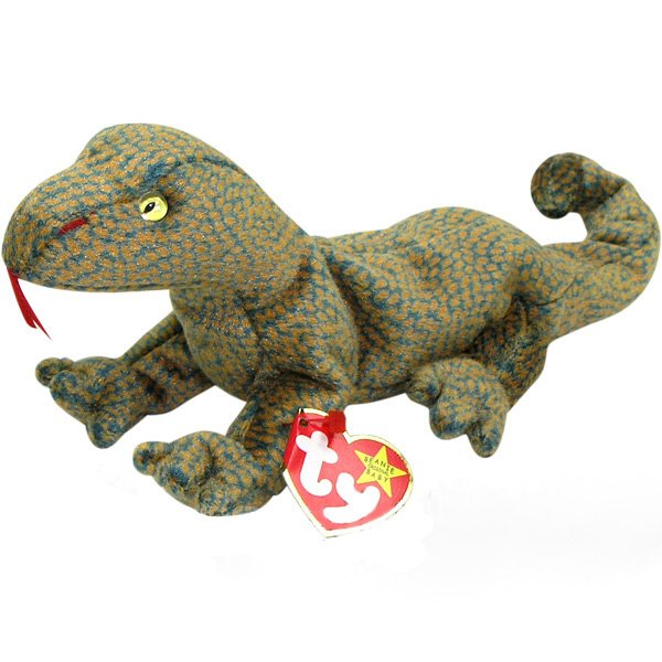 TY Beanie Baby Scaly Lizard