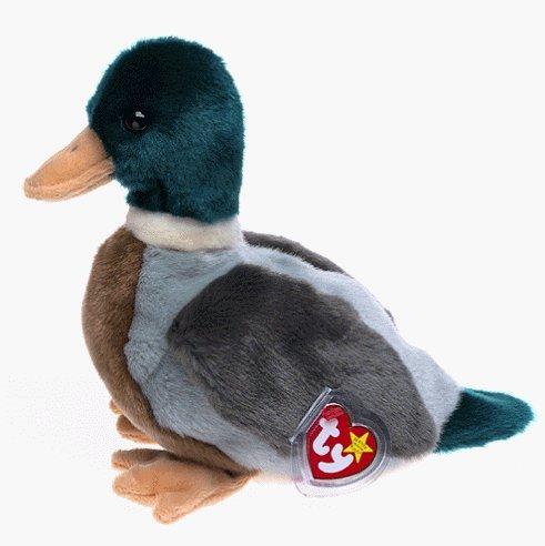 TY Beanie Baby Jake Duck