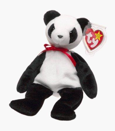 TY Beanie Baby Fortune Bear