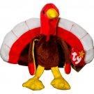 TY Beanie Baby Gobbles Turkey