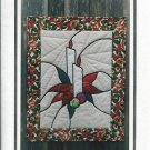 Stained Glass Candle Quilting Pattern by Katie Lane Quilts