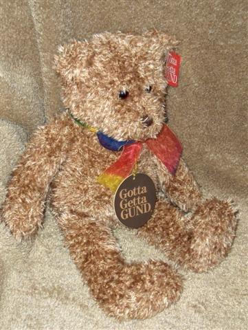 BEARESSENCE Gund Collectible Teddybear, MINT
