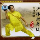 Shaolin Liuhe Stick and Practical Illustration  ISBN:  9787885096359
