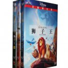 Disney DVD Movie: The Lion King Vol.1,2,3  (Chinese-English Edition)  ISBN:9787799130903