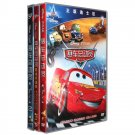 Disney / Pixar's DVD Movie: Cars  Vol. 1,2,3  (Chinese-English Edition)  ISBN:9787883686095