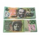 Lot of 100 Pieces  Banktells' AU$ 100 Training Australia Banknotes Paper Money UNC