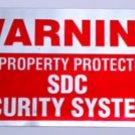 Security Sticker -SDC