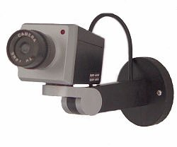 Dummy Camera with Intruder Alert
