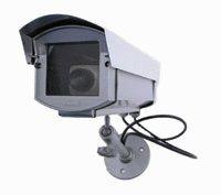 Dummy Camera in Outdoor Housing w/ Light