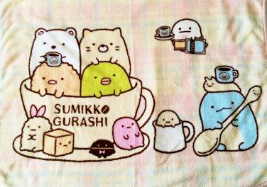 Brand New Authentic 60x80cm Sumikko Gurashi 2015 Lucky Dip Prize Towel Blanket A