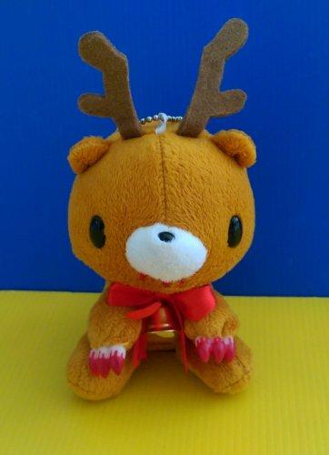 Brand New Authentic CHAX Mori Chack 11cm Christmas Reindeer Gloomy Bear plush soft toy doll